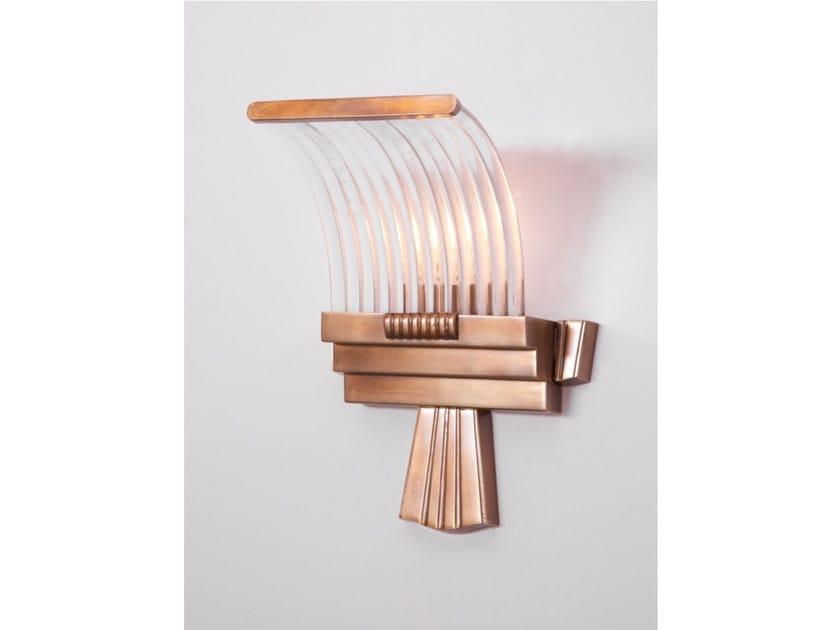 Direct light handmade brass wall light PETITOT XV | Brass wall light by Patinas Lighting