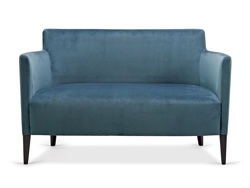 2 seater fabric sofa PETRA DOUBLE by Fenabel