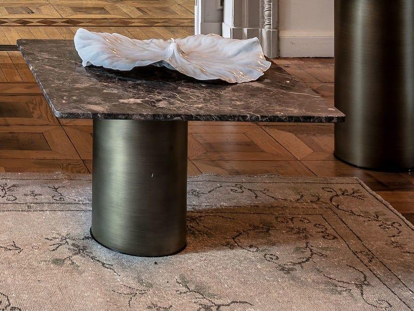Tavolino quadrato in marmo PETRA | Tavolino quadrato by Arketipo