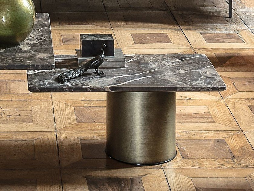 Rectangular marble coffee table PETRA | Rectangular coffee table by Arketipo