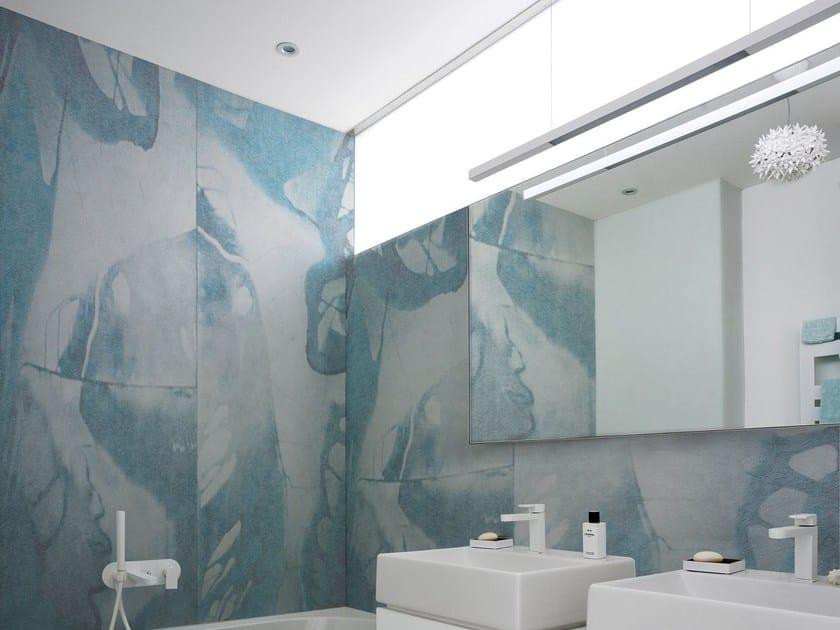 Motif wallpaper PETROL by Wall&decò