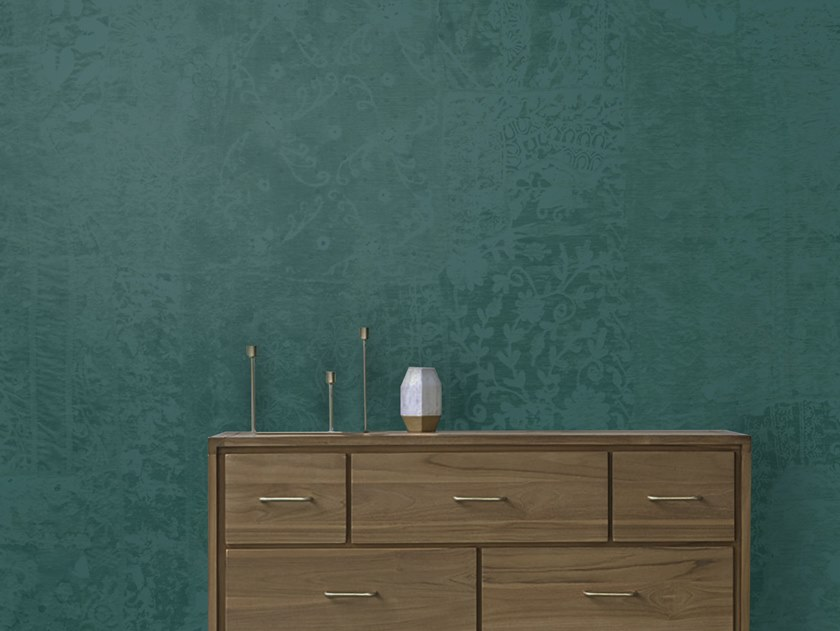 Wall tiles / wallpaper PETROLIO by Officinarkitettura®