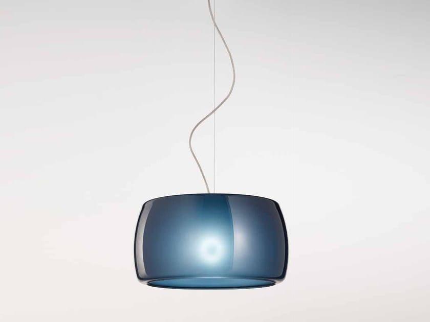 Murano glass pendant lamp PHILADELPHIA LS 619 by Siru