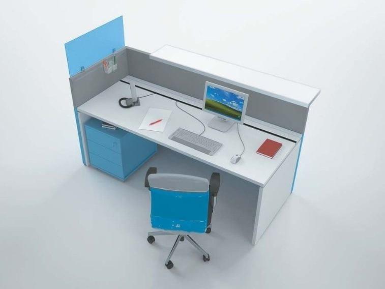 Wooden Reception desk PHILO | Reception desk by Castellani.it