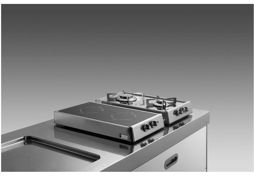 Awesome Piano Cottura Ribaltabile Gas/induzione, Piano Cottura A Gas A Induzione Da  Appoggio In