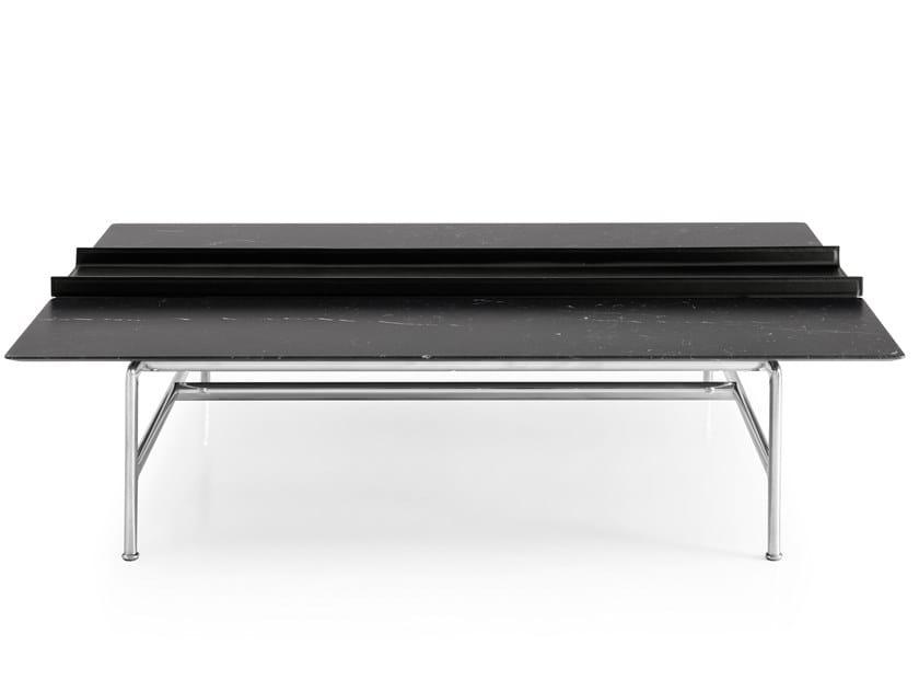 Rectangular marble coffee table PIANURA by B&B Italia