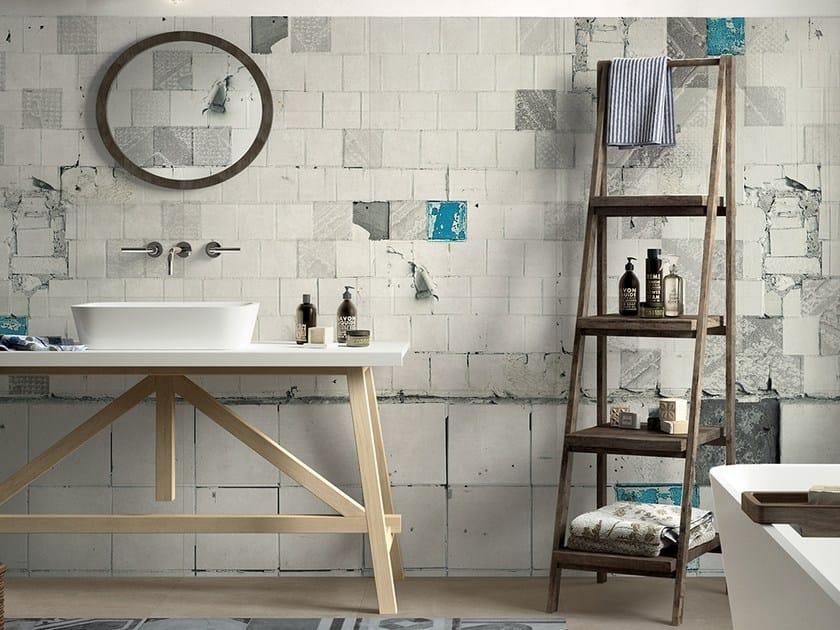Carte da parati per il bagno archiproducts