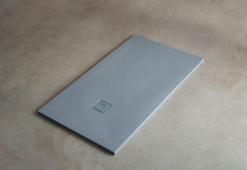 Custom ceramic shower tray INFINITO H3 | Shower tray by Ceramica Cielo