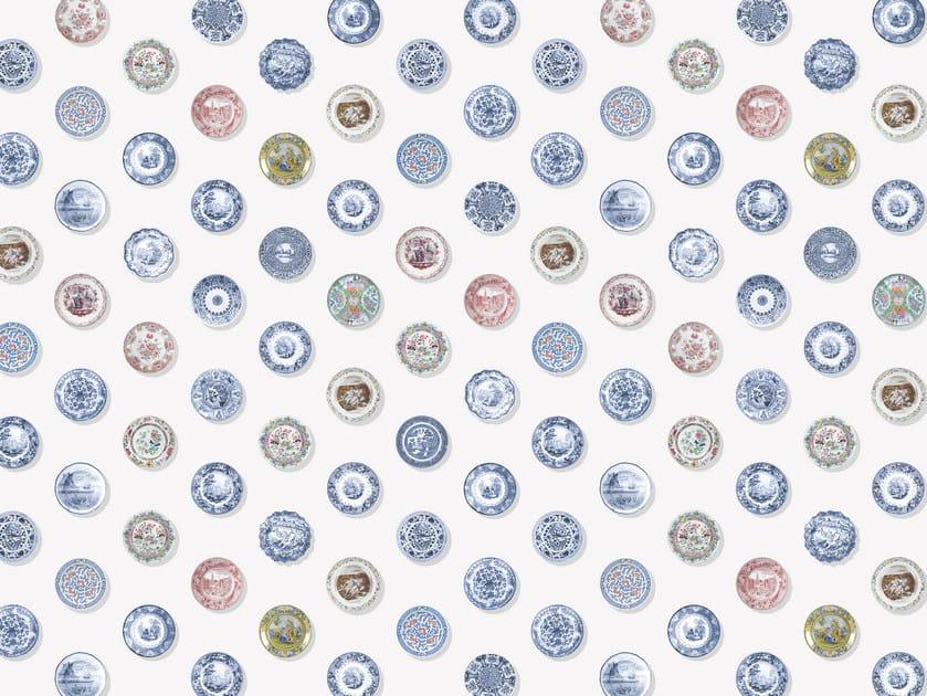Wallpaper / floor wallpaper PIATTI by Texturae