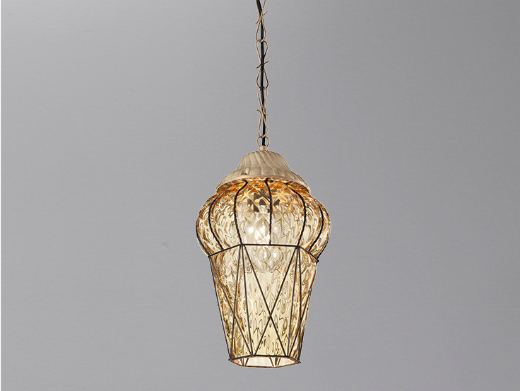 Murano glass pendant lamp PIAZZA ES 114 by Siru