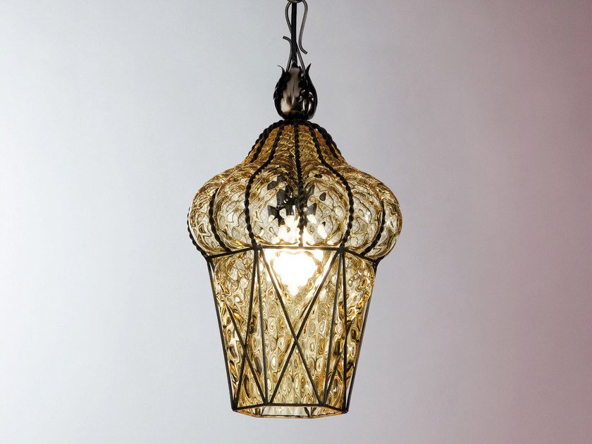 Murano glass pendant lamp PIAZZA MS 114 by Siru