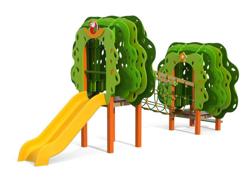 Polyethylene Play structure PICCOLO BOSCO by Stileurbano