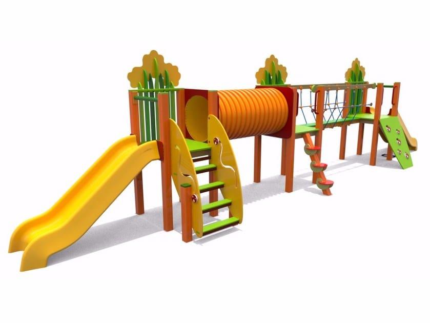 Play structure PICCOLO PRATO LINEA by Stileurbano