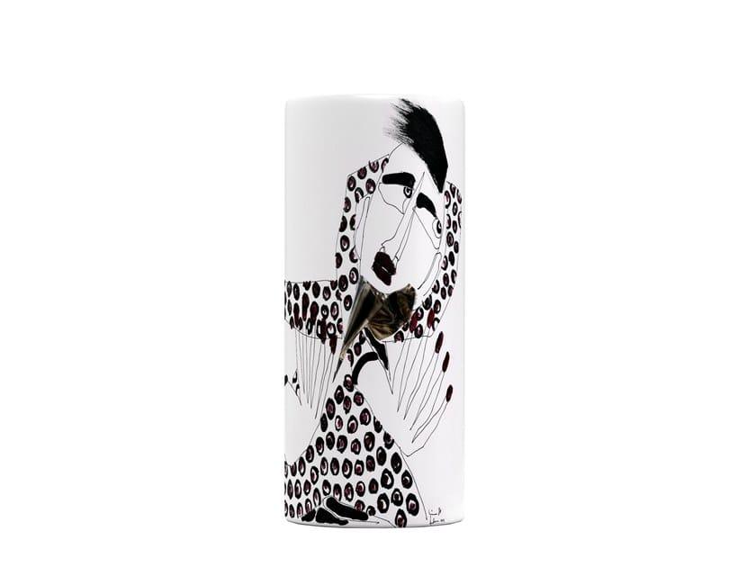 Ceramic vase PICKWICK IV by Kiasmo
