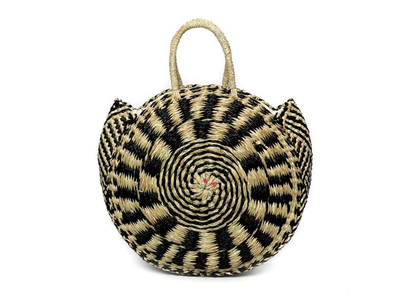 Seagrass bag PIED ROUNDI by Bazar Bizar
