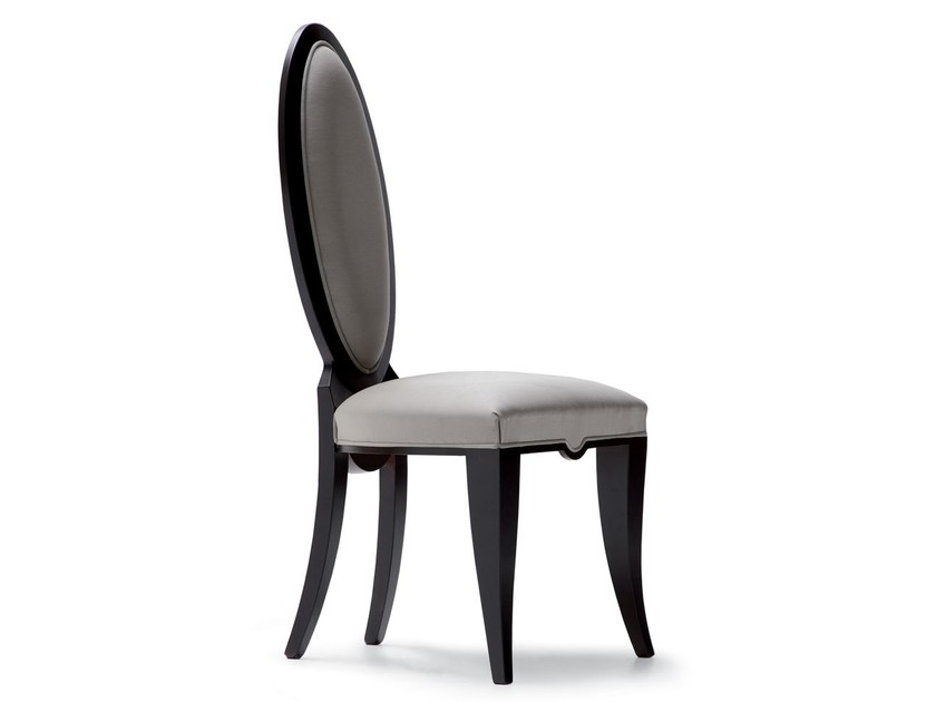 Medallion fabric chair PIERRE by OPERA CONTEMPORARY