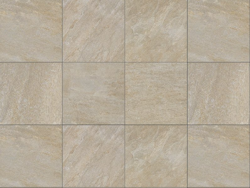 Porcelain stoneware outdoor floor tiles with stone effect PIETRA BARGE 3 CM by GRANULATI ZANDOBBIO