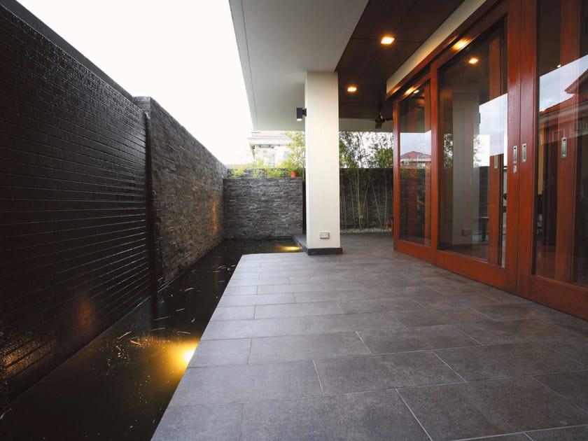 Porcelain stoneware outdoor floor tiles with stone effect PIETRA BLUE | Outdoor floor tiles by Casalgrande Padana