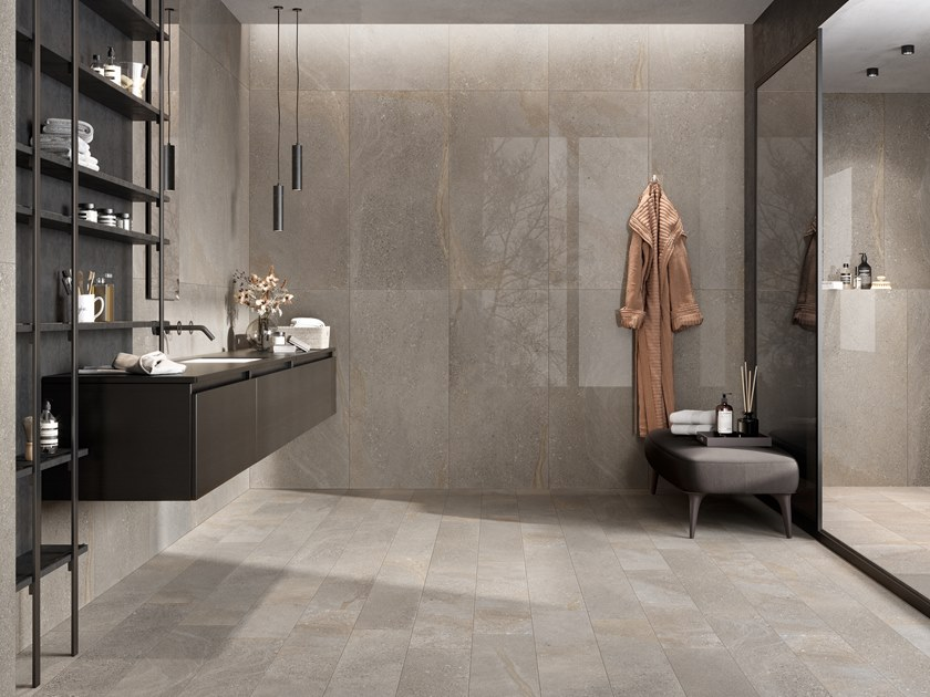Wall/floor tiles with stone effect PIETRA DI PANAMA by Ceramica Rondine