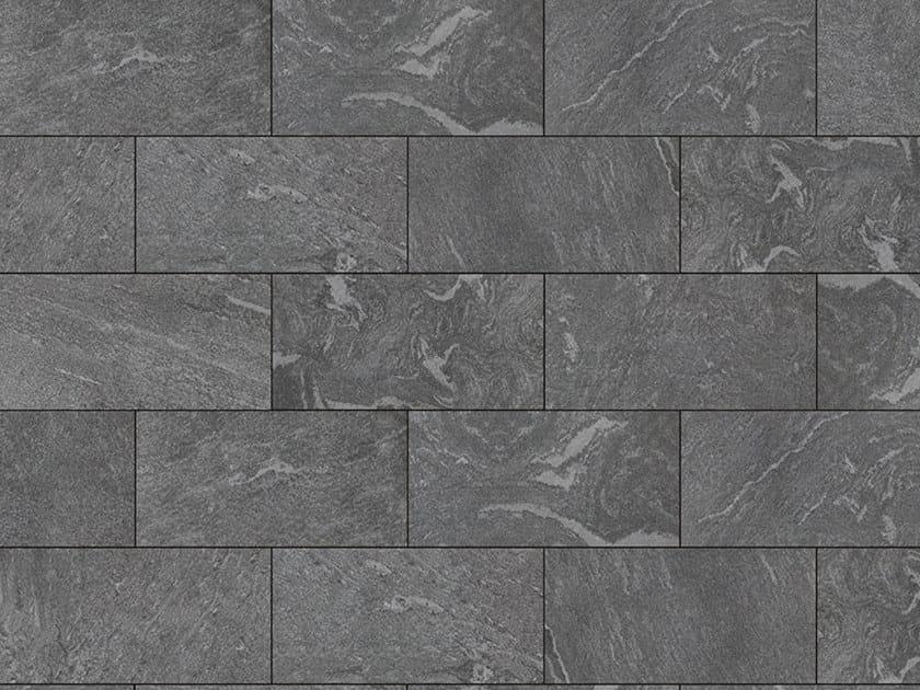 Porcelain stoneware outdoor floor tiles with stone effect PIETRA GRIGIONI 3 CM by GRANULATI ZANDOBBIO
