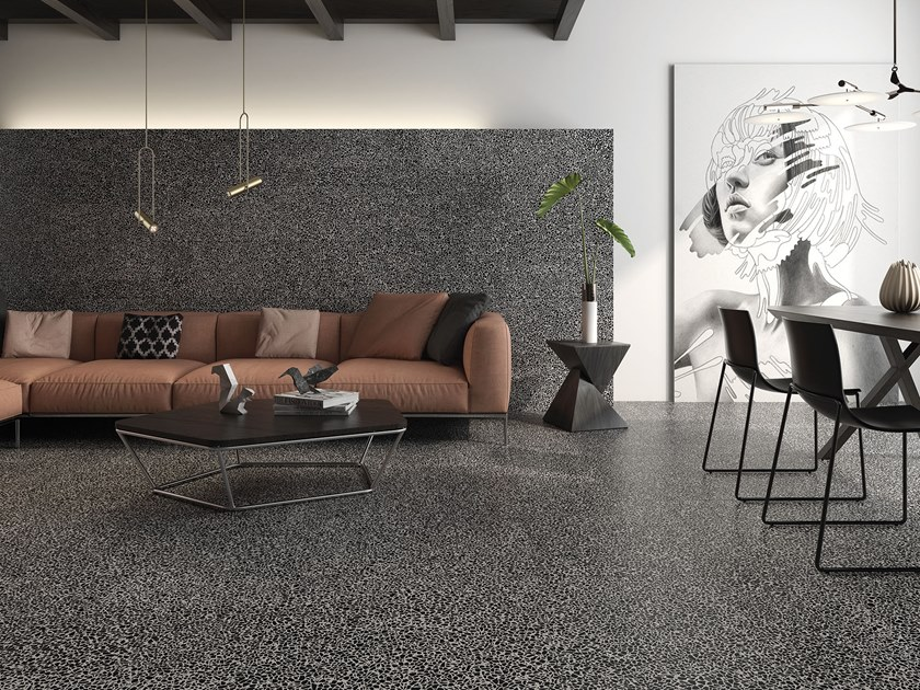 Porcelain wall/floor tiles with stone effect PIETRA by ITT Ceramic