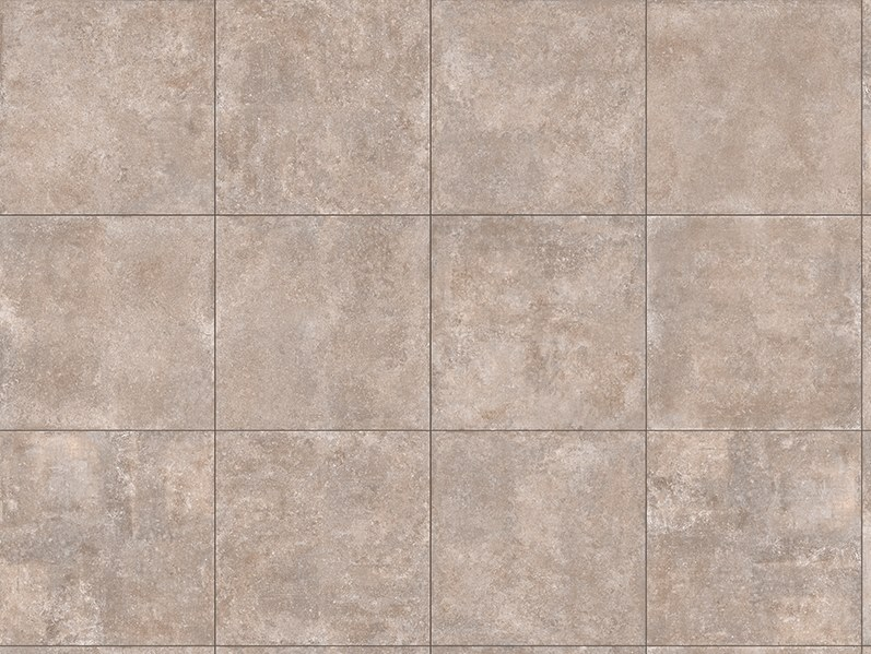 Porcelain stoneware outdoor floor tiles with stone effect PIETRA NOCCIOLA 3 CM by GRANULATI ZANDOBBIO