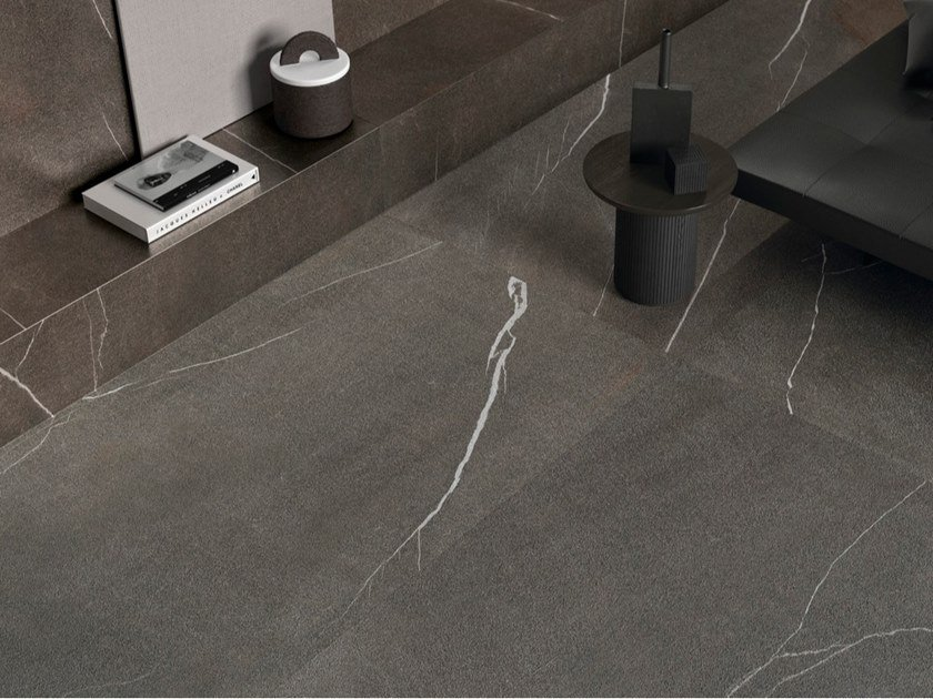 Pavimento/rivestimento in gres porcellanato effetto pietra PIETRA PIASENTINA by ARIOSTEA