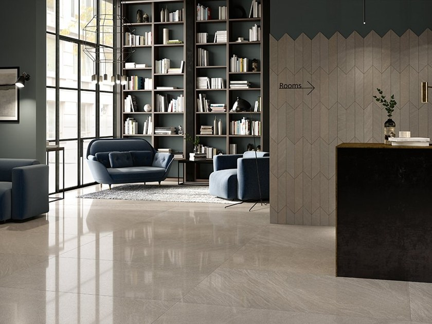 Porcelain stoneware wall/floor tiles with stone effect PIETRA