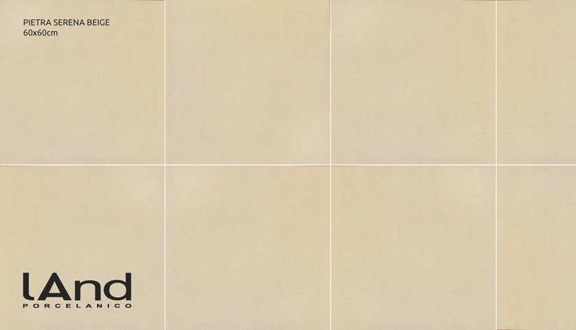 Technical porcelain wall/floor tiles with stone effect PIETRA SERENA BEIGE by Land Porcelanico