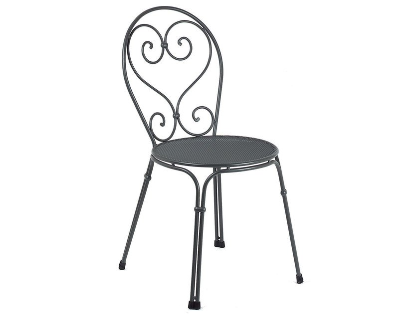 Stackable steel garden chair PIGALLE | Chair by emu
