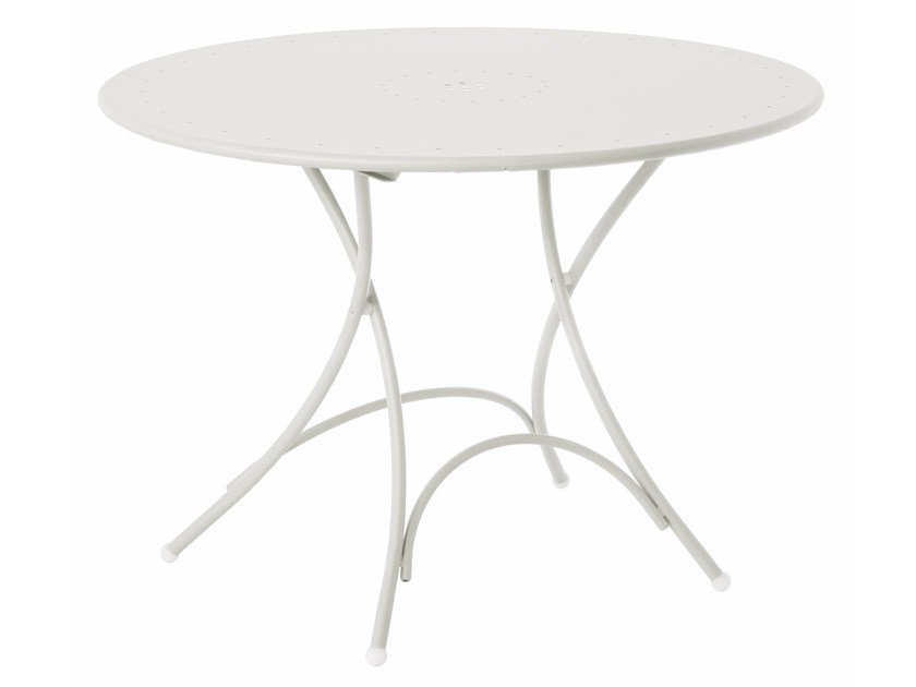 Folding round table PIGALLE by emu