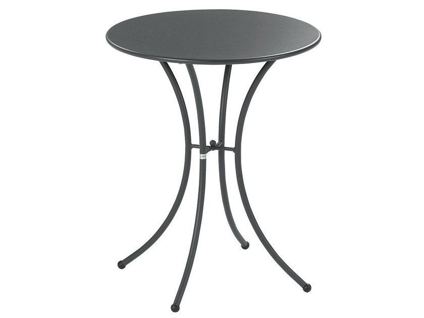 Round steel garden table PIGALLE | Round table by emu