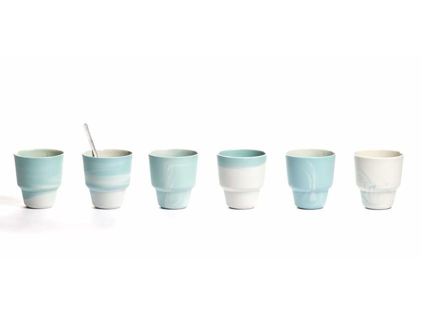 Porcelain espresso cup PIGMENTS & PORCELAIN | Porcelain cup by Vij5