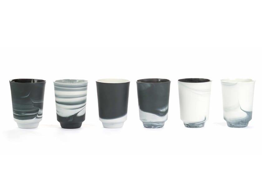 Porcelain tea cup PIGMENTS & PORCELAIN   Tea cup by Vij5