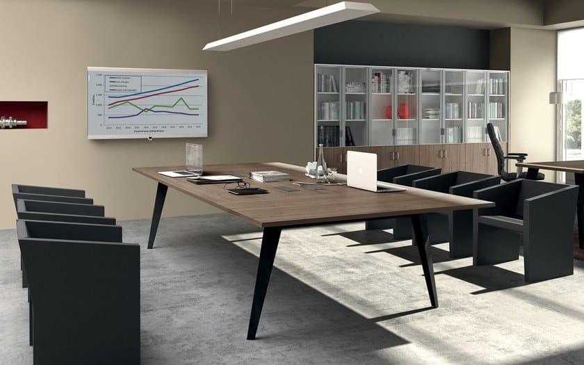 PIGRECO | Tavolo da riunione in legno