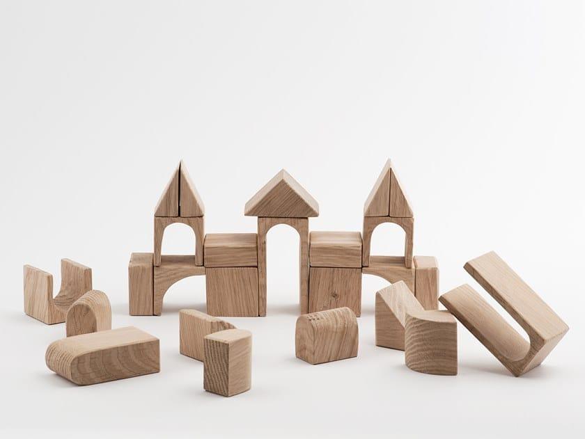 Wooden blocks PILIS by Edu2