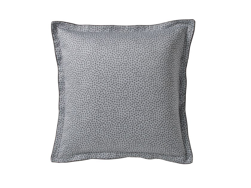 Printed cotton pillow case with graphic pattern STELLAIRE | Pillow case by Alexandre Turpault