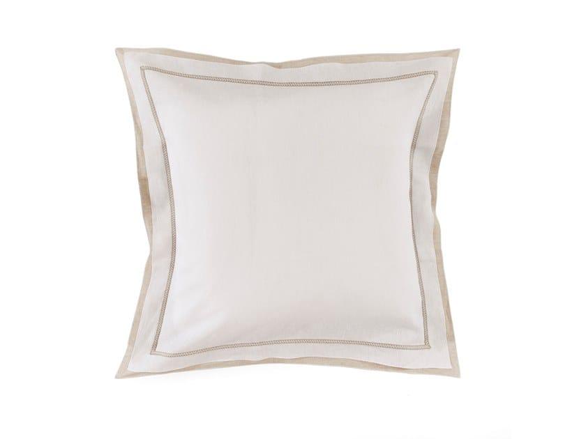 Linen pillow case BASTIDE | Pillow case by Alexandre Turpault