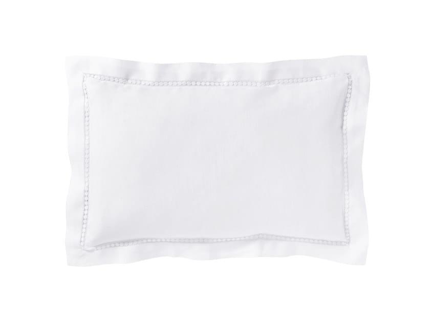 Solid-color linen pillow case LE JOUR | Pillow case by Alexandre Turpault