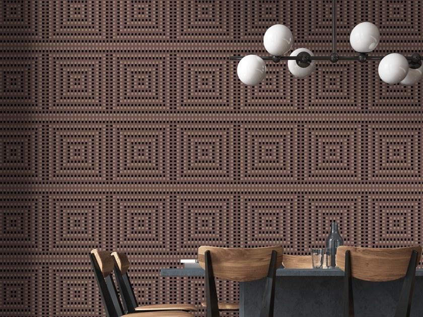Geometric Vinyl Wallpaper Pills Pattern Collection By