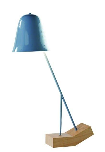 Metal table lamp PILU by ROCHE BOBOIS