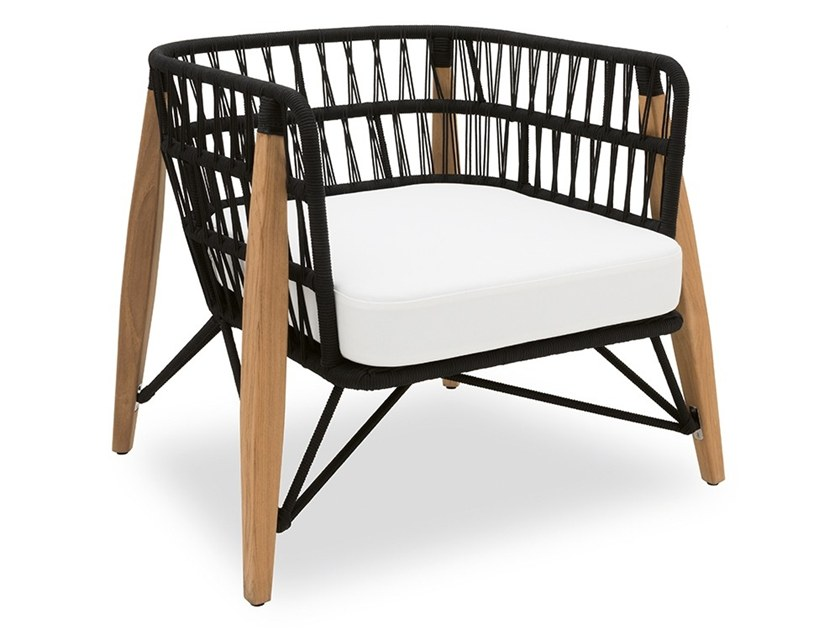 rope garden armchair with armrests pimlico garden armchair by indian ocean - Ocean Garden