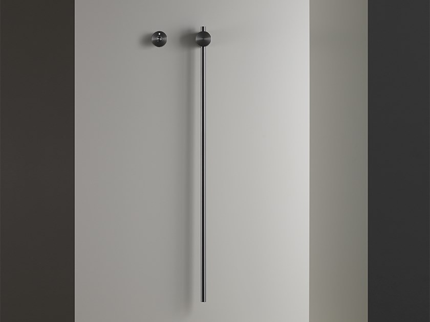 Electric wall-mounted stainless steel towel warmer PIN 20 by Ceadesign