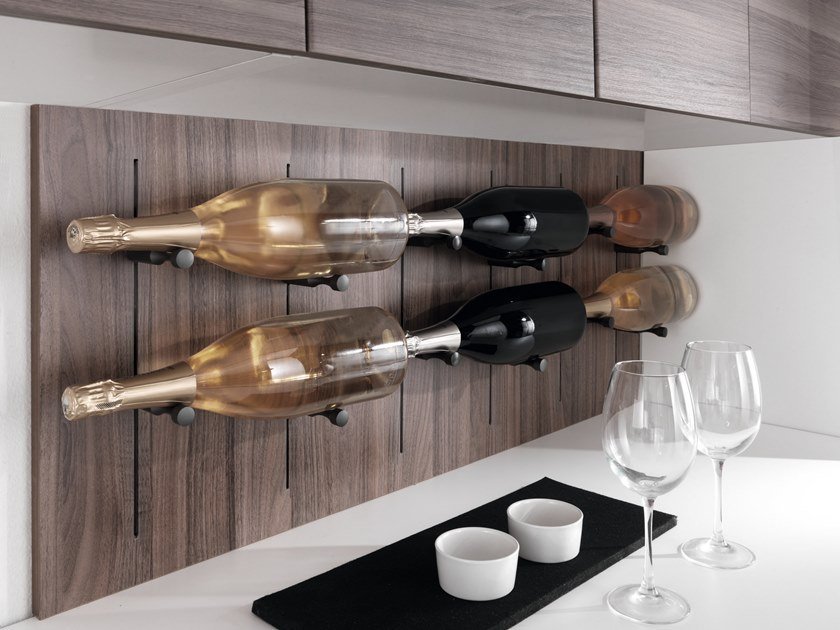 Bottle rack / Kitchen backsplash PIN WINE by SALICE