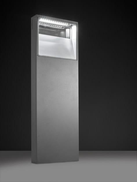 LED extruded aluminium bollard light PIN F.8230 by Francesconi & C.