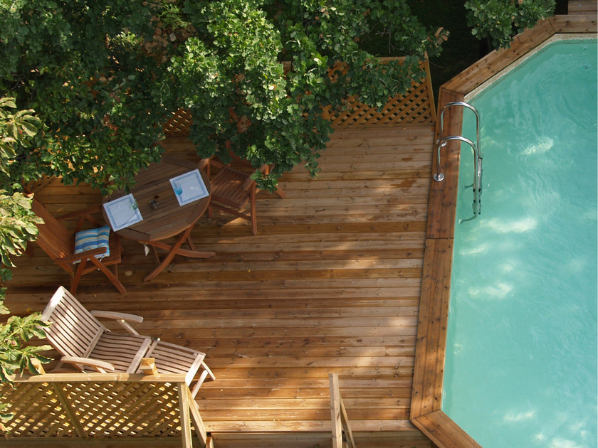 Pine decking Pine decking by ALCE