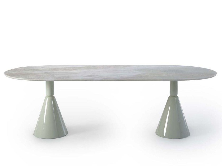 Oval marble table PION | Marble table by Sancal
