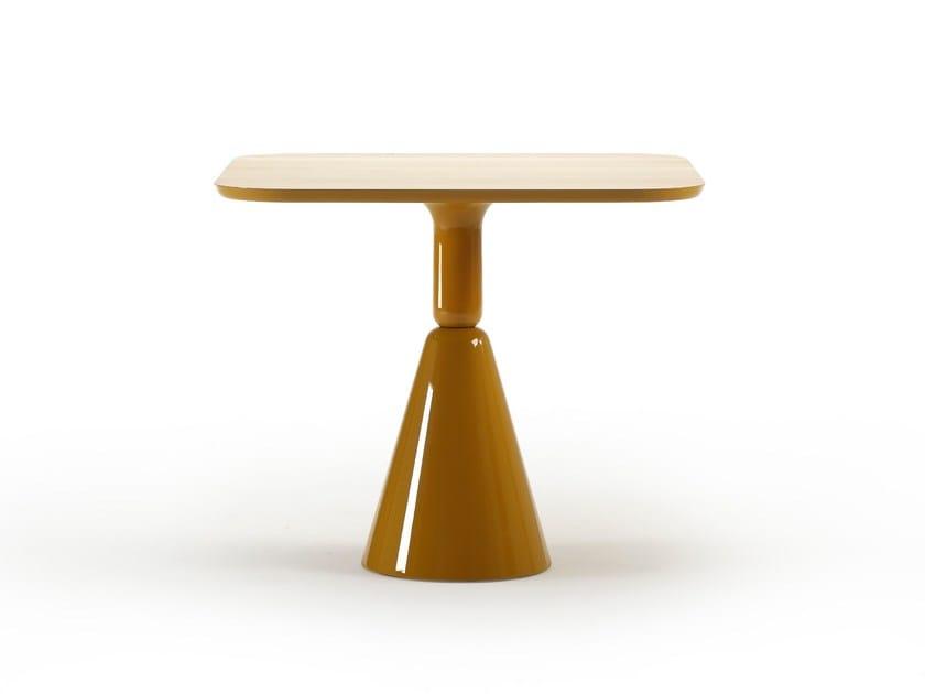 Tavolo quadrato in legno PION | Tavolo quadrato by Sancal