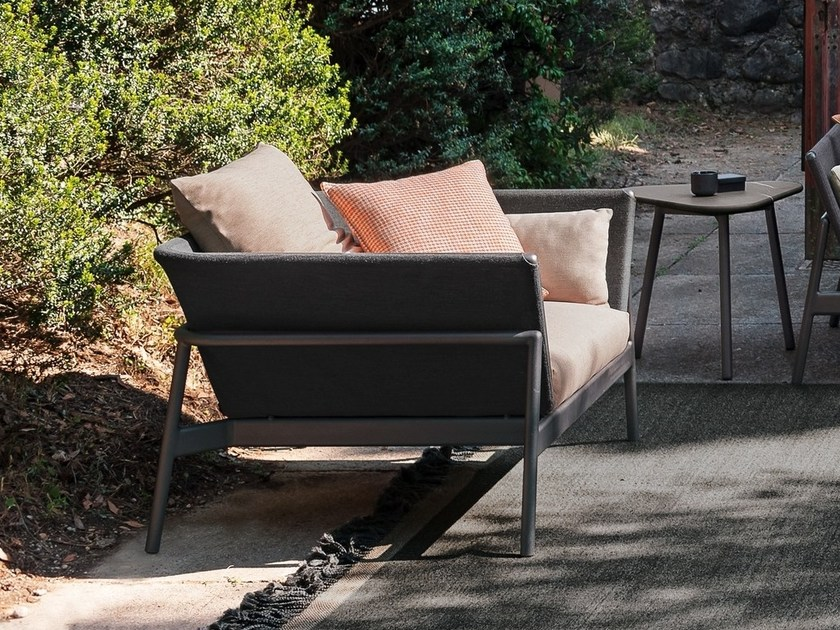 Aluminium garden armchair PIPER | Garden armchair by RODA - PIPER Garden Armchair Piper Collection By RODA
