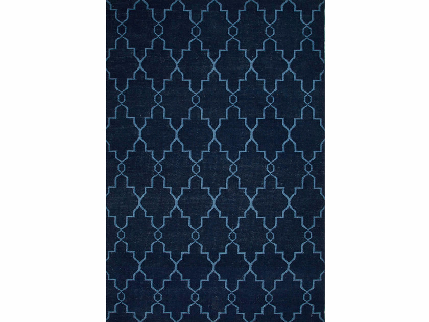 Wool rug MAROC DW-162 Medieval Blue/Dark Denim by Jaipur Rugs